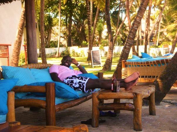 David Macharia en Mombasa