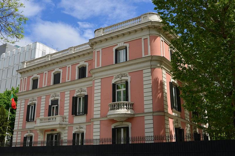 Palacete Embajada de Portugal