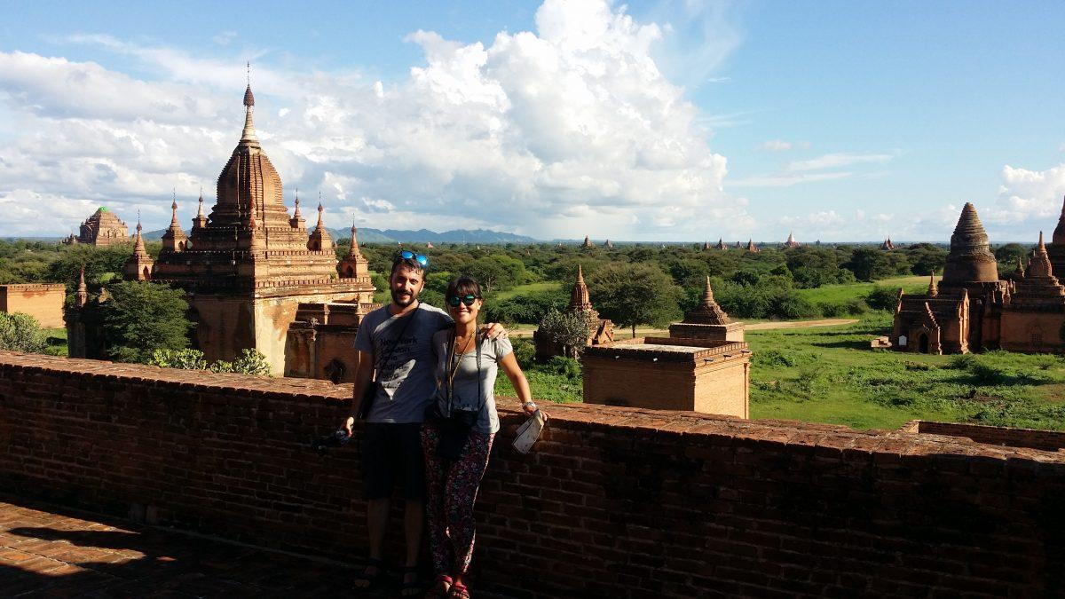 Viajeros en Myanmar