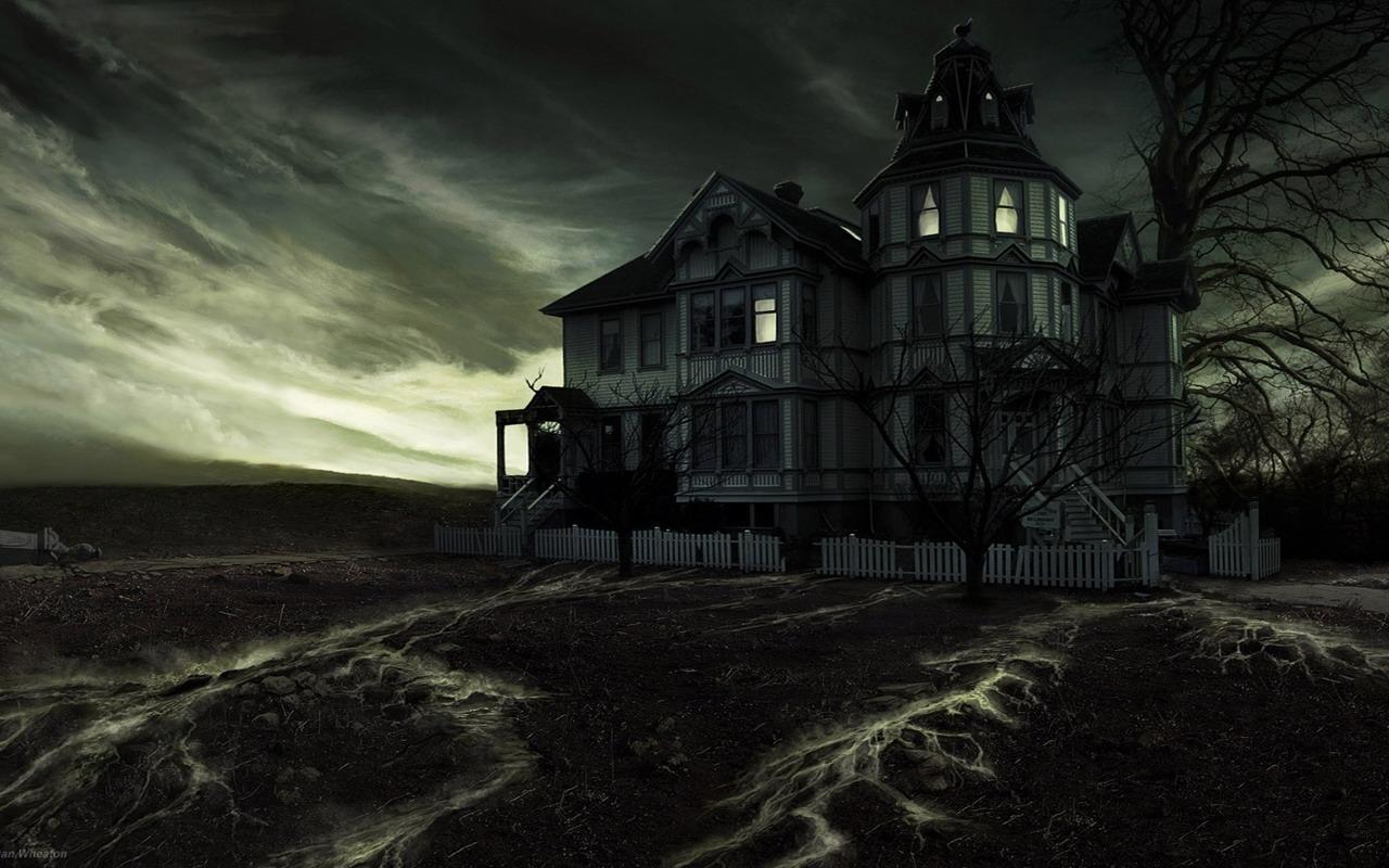 Casa fantasma y viajes de miedo