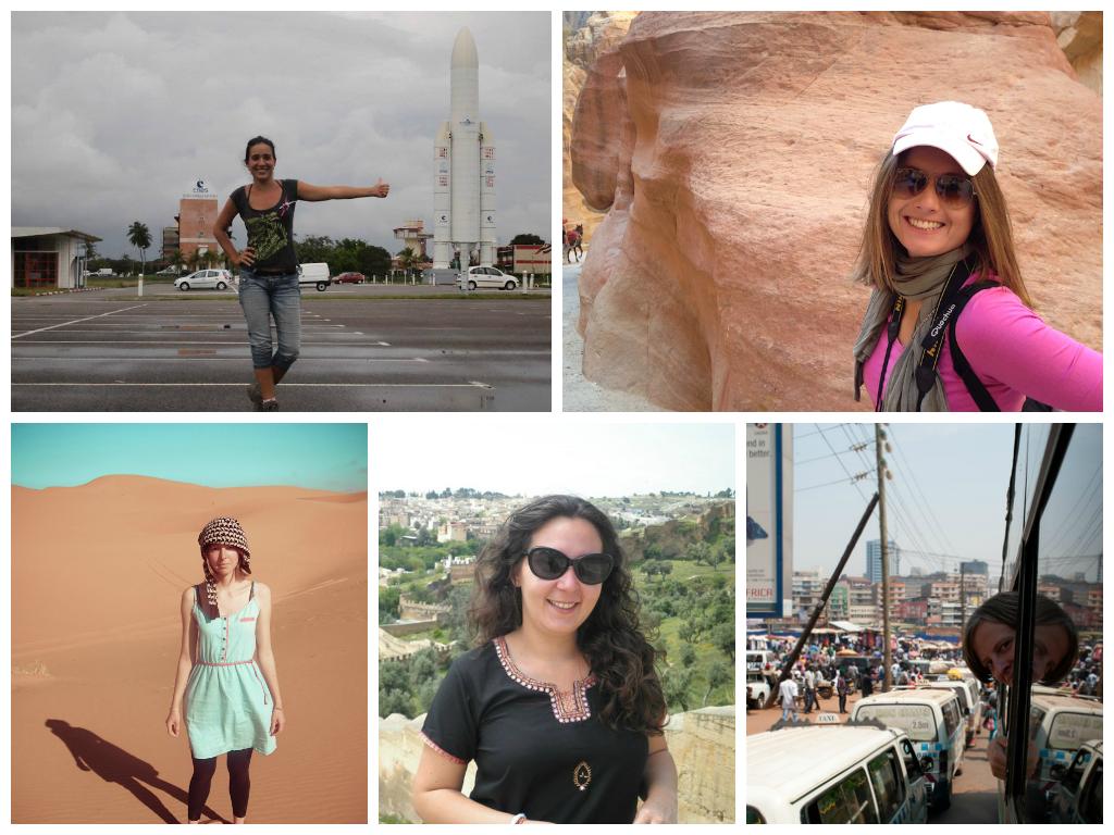 5 mujeres viajeras