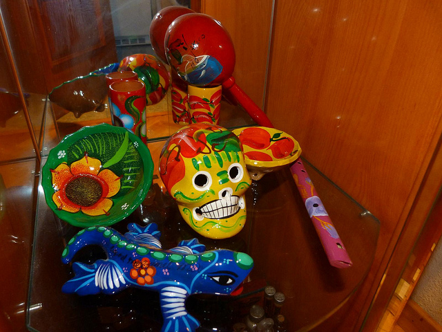 Souvenir de cerámica