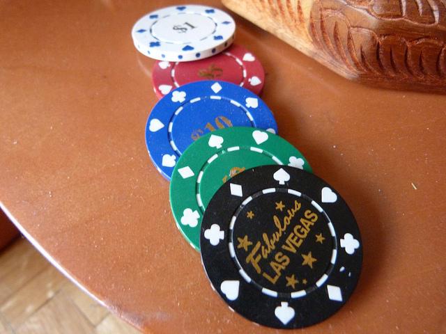 Monedas casino Las Vegas