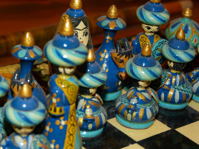 Chess azul