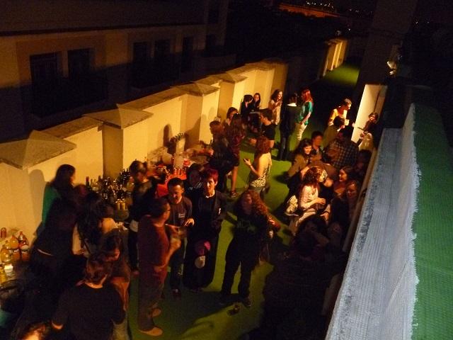 terraza foto