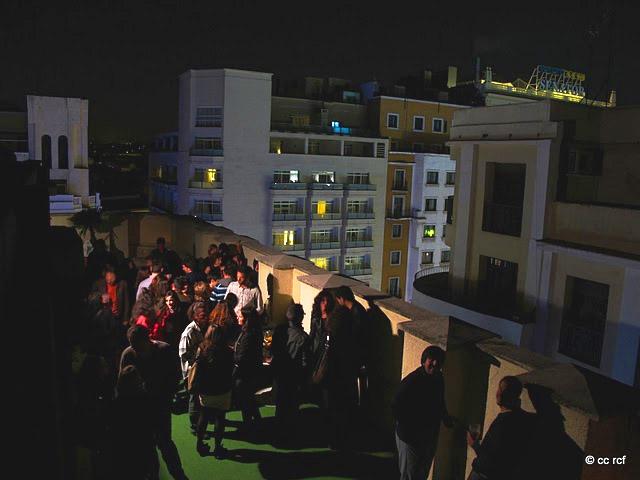 terraza gran via