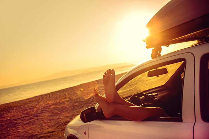 Viajar en verano